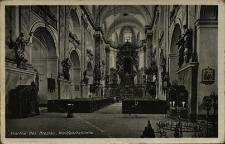 Bardo : wnętrze kościoła pw. Nawiedzenia Najświętszej Marii Panny