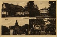 Chróścina : kościół, sklep kolonialny, dworek, pomnik