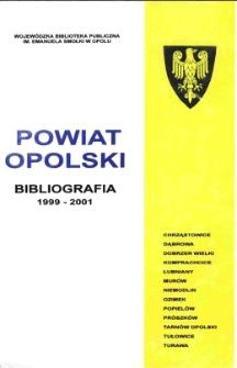 Bibliografia powiatu ziemskiego opolskiego za 1999-2001