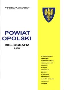 Bibliografia powiatu ziemskiego opolskiego za 2008
