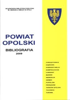 Bibliografia powiatu ziemskiego opolskiego za 2009