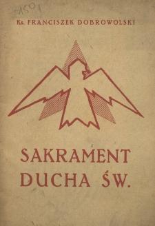 Sakrament Ducha Św.