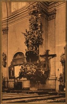 Duszniki Zdrój : wnętrze kościoła