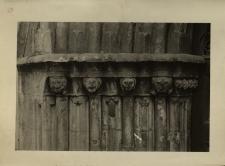 Głuchołazy : portal gotycki - pozostałość po spalonym kościele