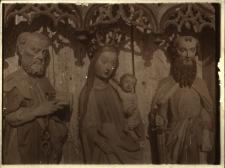 Gołkowice : tryptyk z kościółka drewnianego (XV w.)