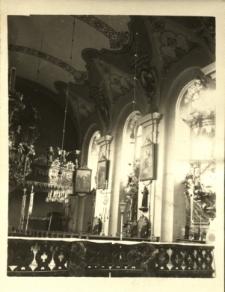 Gołuszowice : fragment wnętrza kościoła pw. Św. Marcina