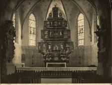 Gryfów Śląski : ołtarz główny w kościele katolickim