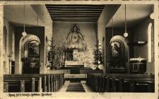 Sobótka : wnętrze kościoła w Górce