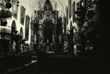 Jemielnica : wnętrze kościoła pocysterskiego