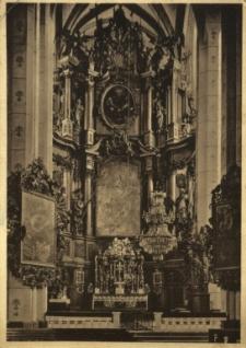 Kamieniec Ząbkowicki : wnętrze kościoła parafialnego