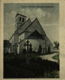 Kępnica : kościół katolicki z zewnątrz
