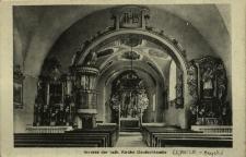 Kępnica : wnętrze kościoła