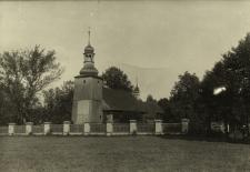 Koszęcin : widok na kościół drewniany