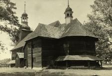 Koszęcin : kościół drewniany z zewnątrz