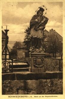 Kowary : figura św. Jana Nepomucena na moście