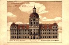 Krzeszów : pierwotny projekt klasztoru (rycina)