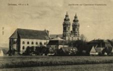 Krzeszów : widok na kościół pw. świętego Józefa i klasztor
