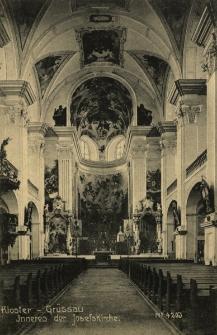 Krzeszów : wnętrze kościoła pw. świętego Józefa