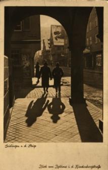 Geislingen : widok na ulicę od strony ratusza