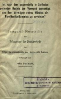 Inaugural-Dissertation zur Erlangung der Doktorwürde der Hohen Juristenfakultät der Universität Rostock