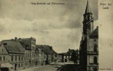 Kąty Wrocławskie : ulice przy rynku