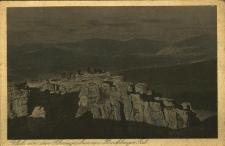 Karkonosze : widok z Kotłów Śnieżnych na dolinę jeleniogórską