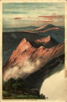Kozie Grzbiety : widok o wschodzie słońca
