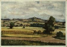 Góra Świętej Anny : widok na klasztor według akwareli Neumanna