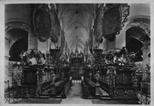 Henryków : stalle w kościele klasztornym