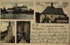 Jemielnica : Kościół pw. Wniebowzięcia NMP z zewnątrz i wewnątrz