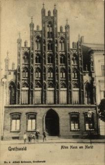 Greifswald : zabytkowa kamienica