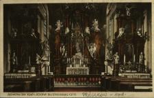 Prószków : wnętrze kościoła