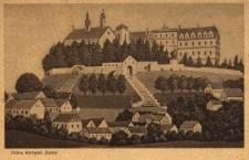 Góra Św. Anny : widok na klasztor