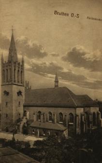 Bytom : widok na kościół