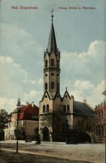 """Głuchołazy : kościół ewangelicki [dziś katolicki """"gimnazjalny""""]"""