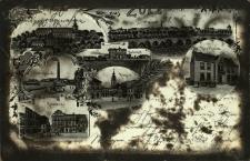 Biała : m.in. ratusz, rynek, panorama miasta