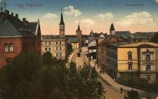 Głuchołazy : fragment miasta wzdłuż dawnej ulicy Seminaryjnej