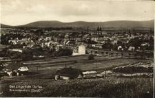 Głuchołazy [Bad Ziegenhals] : widok na miasto i Góry Opawskie