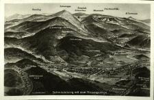 Karkonosze : pasma górskie