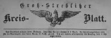Gross-Strehlitzer Kreisblatt, 1892. Stück 13