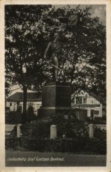 Głubczyce : pomnik Grafa Goetzena
