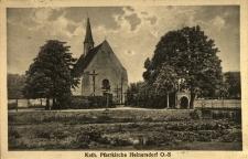 Dziewiętlice : widok na kościół
