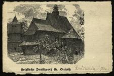 Poniszowice : kościół drewniany