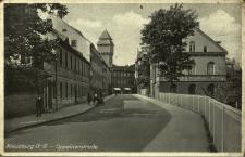 Kluczbork : ulica Opolska