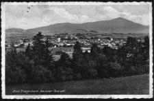 Głuchołazy : widok na miasto i Góry Opawskie