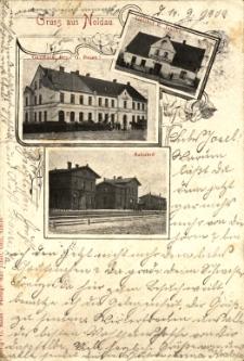 Domaszowice : dworzec, gospody