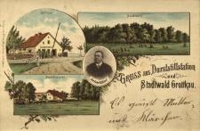 Grodków : leśniczówka, dom celny, las miejski, portret celnika