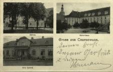 Czarnowąsy : zamek, sierociniec, Villa Gabriel