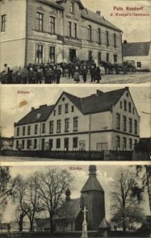 Polska Cerekiew : Gospoda, szkoła, kościół