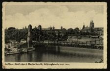 Wrocław : Most Cesarski dziś Grunwaldzki